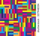 color vector seamless pattern ... | Shutterstock .eps vector #337948334