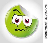 cartoon emoticon graphic design ... | Shutterstock .eps vector #337950998