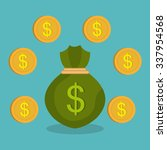 money savings graphic design ...   Shutterstock .eps vector #337954568