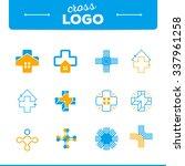 vector illustration of a cross...   Shutterstock .eps vector #337961258
