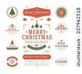 Christmas Labels And Badges...
