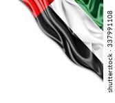 united arab emirates  flag of... | Shutterstock . vector #337991108