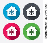 air conditioning indoors icon.... | Shutterstock . vector #337991720