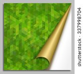 abstract mosaic background... | Shutterstock .eps vector #337998704