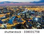 Melbourne City Aerial View...