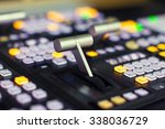 video switcher of television... | Shutterstock . vector #338036729