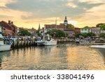 Annapolis Maryland Harbor On...