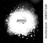 lights silver abstract... | Shutterstock . vector #338057168
