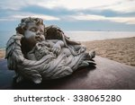Baby Angel Statue Decorated On...