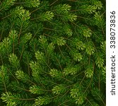 christmas seamless background... | Shutterstock .eps vector #338073836