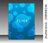 flyer or cover design   Shutterstock .eps vector #338088146