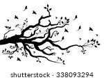 tree branch | Shutterstock .eps vector #338093294