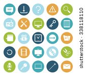 flat design icons for user...