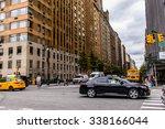 new york  usa   sep 22  2015 ... | Shutterstock . vector #338166044
