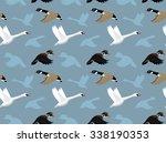 ducks wallpaper 1 | Shutterstock .eps vector #338190353