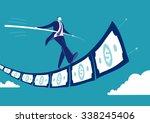 balance. concept business... | Shutterstock .eps vector #338245406