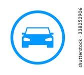 car icon. flat design style | Shutterstock . vector #338252906