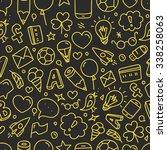 different web interface... | Shutterstock .eps vector #338258063
