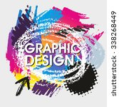craphic desing vector flyer... | Shutterstock .eps vector #338268449