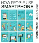 big set infographic with charts ... | Shutterstock .eps vector #338271350
