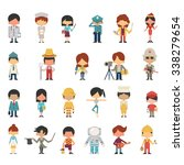 illustration characters of kids ... | Shutterstock .eps vector #338279654
