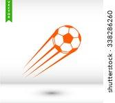 football icon. one of set web...