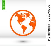 planet icon. one of set web... | Shutterstock .eps vector #338290808