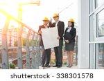 asian construction personnel   Shutterstock . vector #338301578