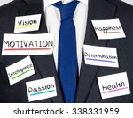 photo of business suit and tie... | Shutterstock . vector #338331959