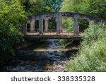 old bridge in borjomi  south... | Shutterstock . vector #338335328
