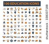 education  learning  study ... | Shutterstock .eps vector #338337188