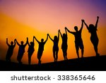Success Celebration Cheerful...