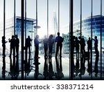business corporate people... | Shutterstock . vector #338371214