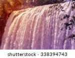 waterfall of the elephant ... | Shutterstock . vector #338394743