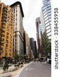 new york  usa   sep 22  2015 ...   Shutterstock . vector #338455958