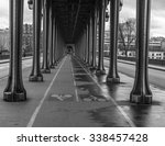 a black and white image of the... | Shutterstock . vector #338457428