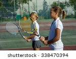 children at school during a... | Shutterstock . vector #338470394