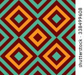 geometric ornament abstract... | Shutterstock .eps vector #338499608