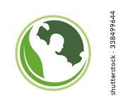 leaf fit | Shutterstock .eps vector #338499644
