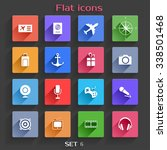 application  web icons set in...