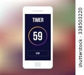 wireframe mobile ui kit timer...