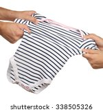 parents' hands tearing out... | Shutterstock . vector #338505326