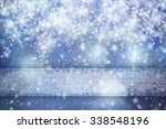 beautiful blue colored abstract ... | Shutterstock . vector #338548196