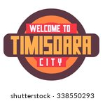 timisoara beautiful city in... | Shutterstock .eps vector #338550293
