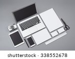 identity design mockup   Shutterstock . vector #338552678