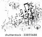 music theme | Shutterstock .eps vector #33855688