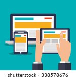 technology concept about... | Shutterstock .eps vector #338578676