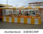 cervia  italy may 16  2015 ... | Shutterstock . vector #338581589