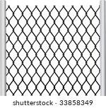 chain link fence vector. Editable Vector; Chainlink Fence Chain Link Vector R