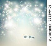 christmas background | Shutterstock .eps vector #338599406